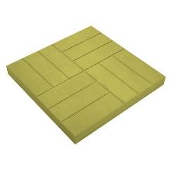 Тротуарная плитка 12 кирпичей, оливковая